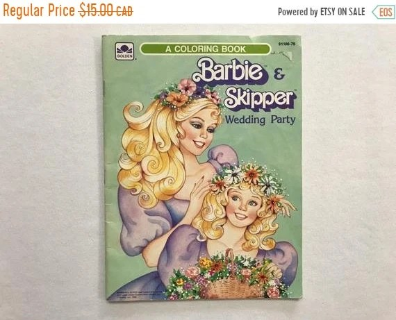 barbie coloring books for sale # 43