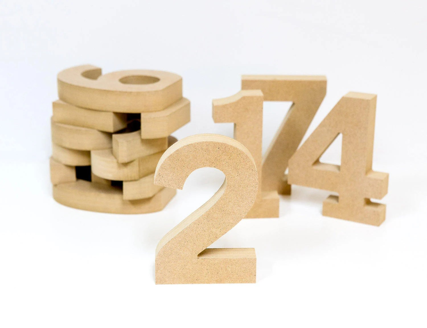wooden numbers etsy