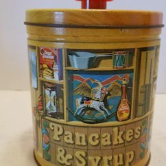Aunt Jemima Kitchen Curtains Overstock Cabinets Etsy Vintage Collectible Tin Canister Retro Storage And Decor Cabin By Quaker Oats Company 1984