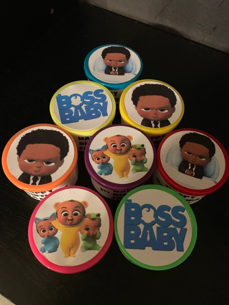 16 African American Black Boss Baby Birthday Party Favor Gift Etsy