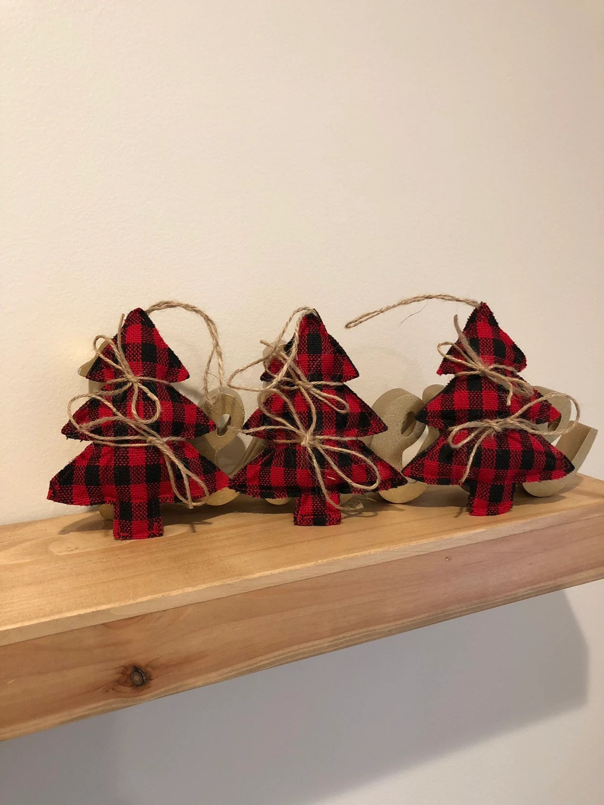 Red And Black Christmas Decorations