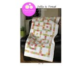 Jelly & Toast Quilt Pattern ( paper)