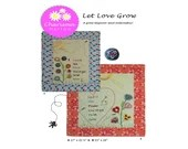 Let Love Grow Paper Pattern