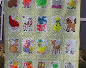 Pre-School Animals Quilt...