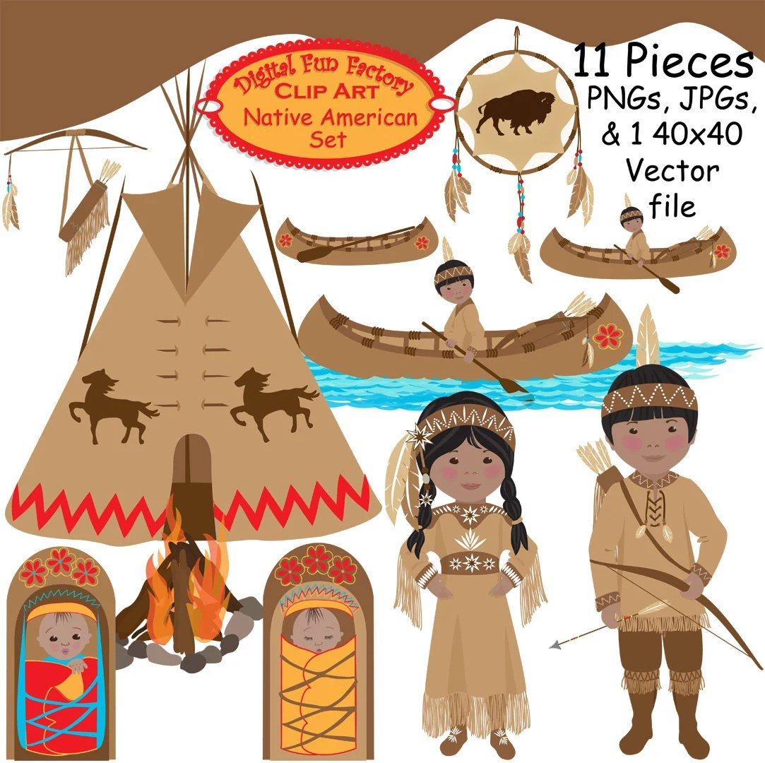 Thanksgiving Clip Art Native American Thanksgiving Clip