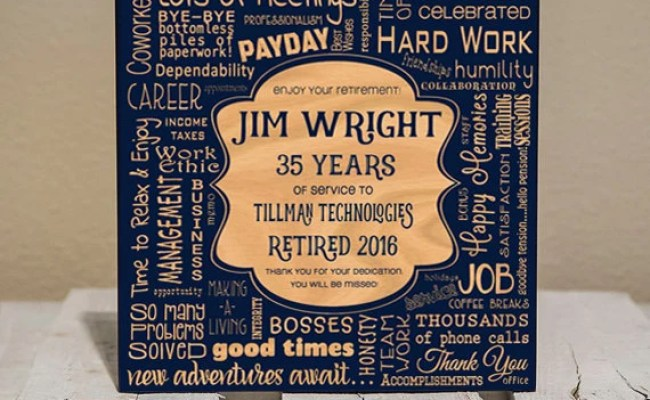 Personalized Retirement Collage Retirement Gifts