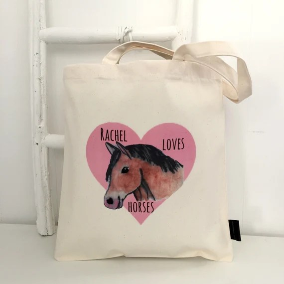 Personalised Horse Bag
