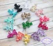 newborn hair bows bow set