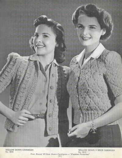 Vintage 1940s Knitting Pattern Booklet 1940s Jack Frost image 3