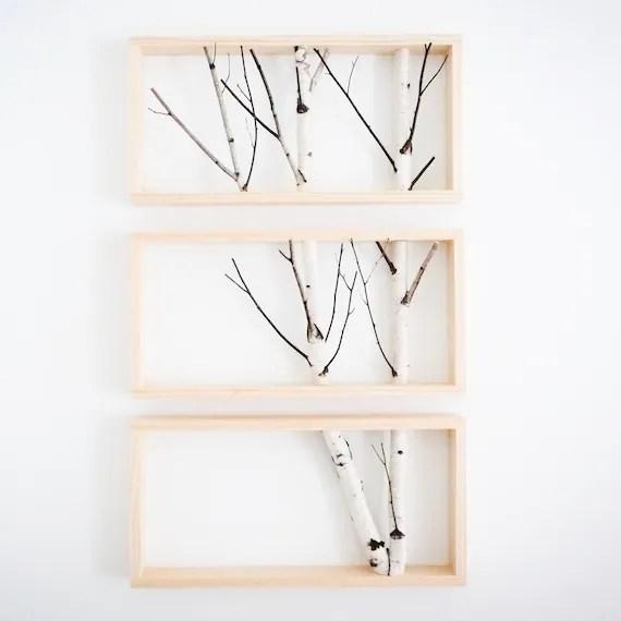 white birch forest wall art birch branch decor birch log etsy