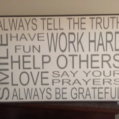 Kitchen Signs For Work Pendant Lighting Island Always Tell The Truth Sign24x36 Sign Fixer Etsy Image 0