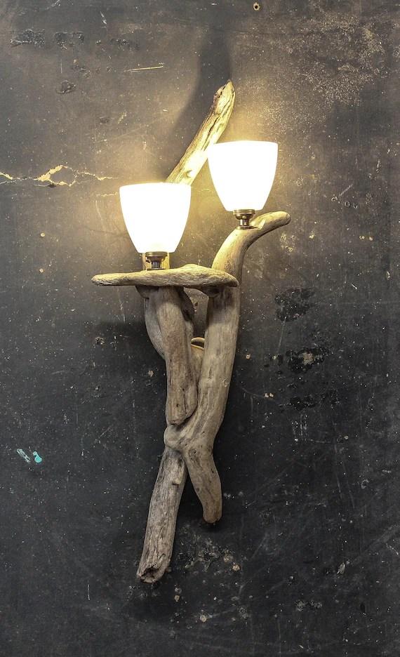 driftwood wall light drift wood wall light drift wood wall sconce light lamp beach house lighting seaside decor