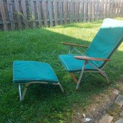 Folding Van Chair Grey Rocking Nursery Midcentury Vintage J B Sciver Lounge Etsy Image 0