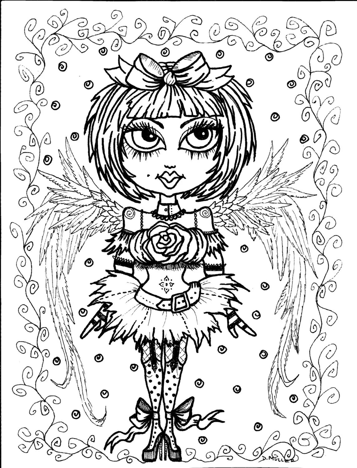 Hymn-spiration 4 coloring pages Instant Dowload Art to Color
