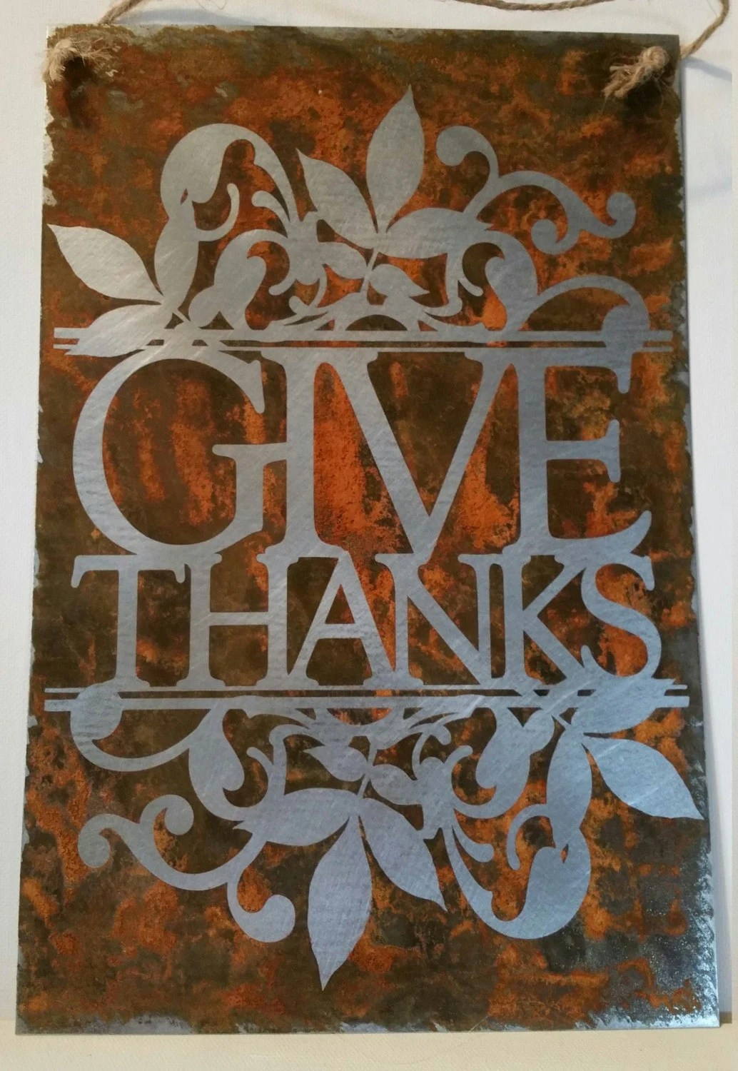 give thanks 8 x12