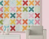 Cross Stitch Quilt Pattern by Zen Chic