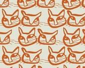 Lotta Jansdotter Fabric - Hemma - Merri in Mandarin