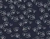 Lotta Jansdotter Fabric - Lilla - Rue11 in Indigo