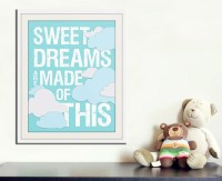 Sweet Dreams Nursery art print. Baby nursery decor | Etsy