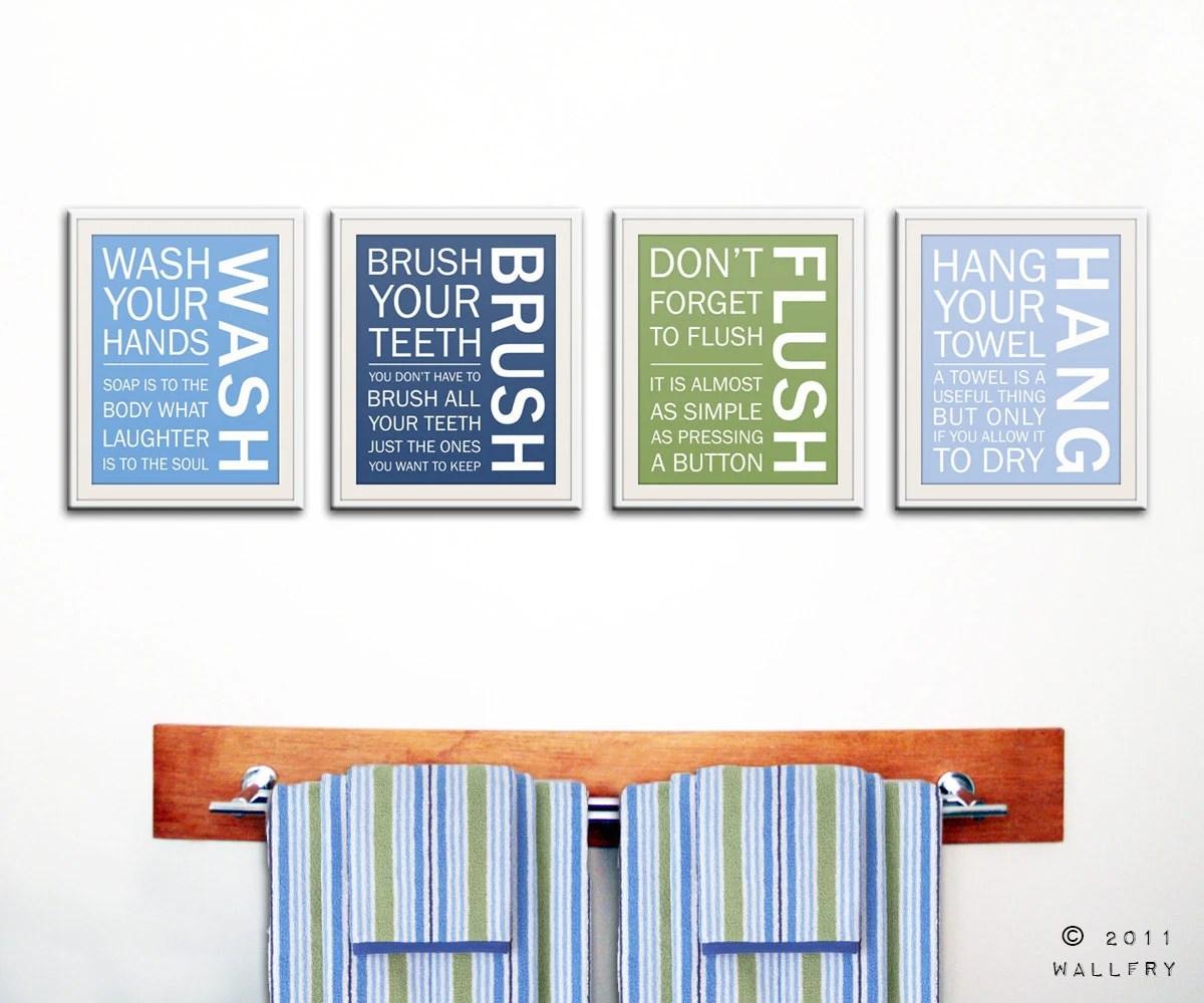 Kids Bathroom Decor. Bathroom Art Bathroom Prints Bathroom