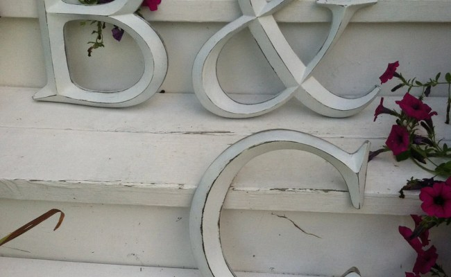 Wall Decor Large Letter Shabby Chic Wall Decor New Item Etsy