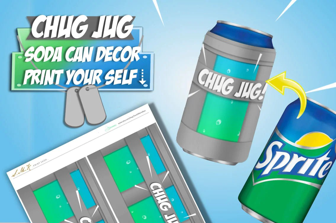 Fortnite Printable Chug Jug