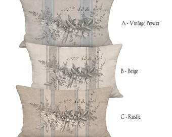 french country pillows etsy