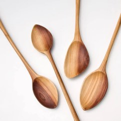 Kitchen Spoons Best Islands Wooden Hand Carved From Plum Wood Utensils Etsy Image 0