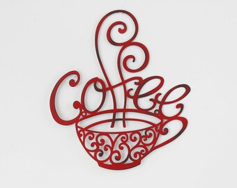 Coffee Decor Etsy