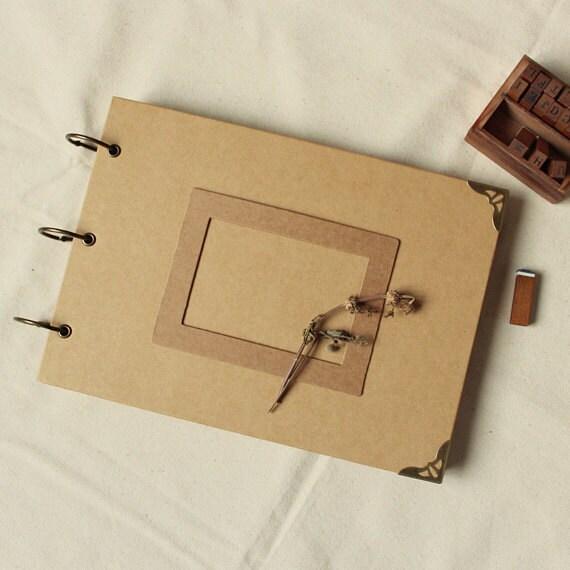 DIY Kraft Papier Hochzeit Album Scrapbook Album Fotoalbum  Etsy