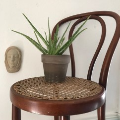 Bentwood Cane Seat Chairs Ergonomic Stool Ikea Antique Chair With Etsy Image 0