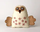 Felt Owl Sewing Pattern, ...