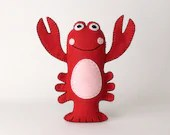 Lobster Sewing Pattern, S...