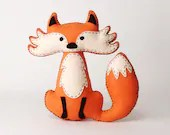 Fox Sewing Pattern, Felt ...