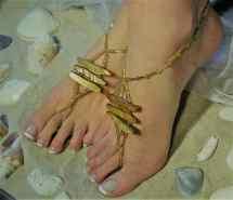 Barefoot Sandals-anklet-beach Wedding Sandals