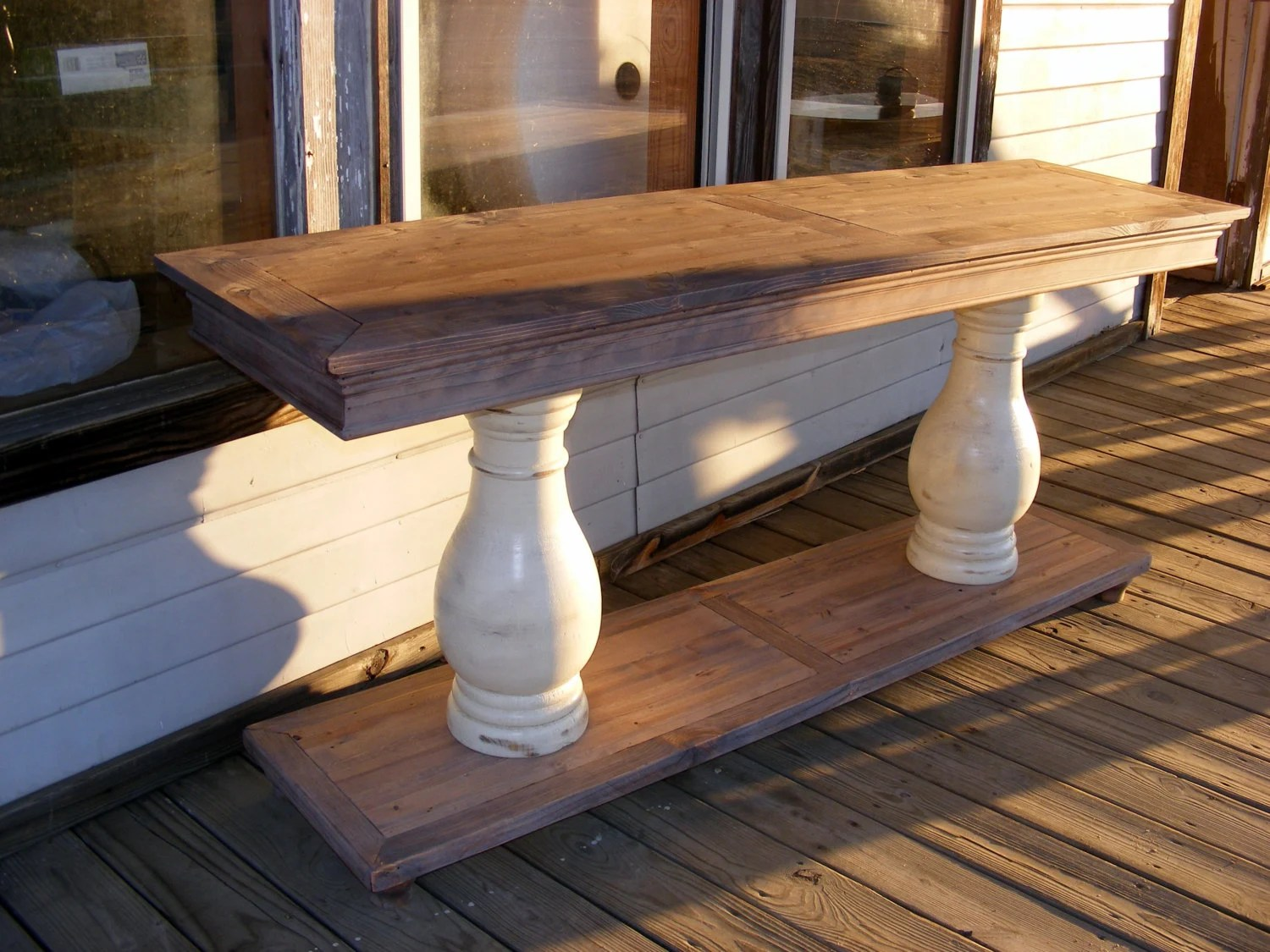 Balustrade Table Legs