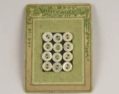 12 Antique Pearl French B...
