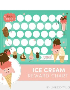 Image also kids reward chart ice cream chore for etsy rh