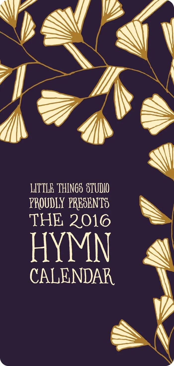 2016 Hymn Calendar by Lit...