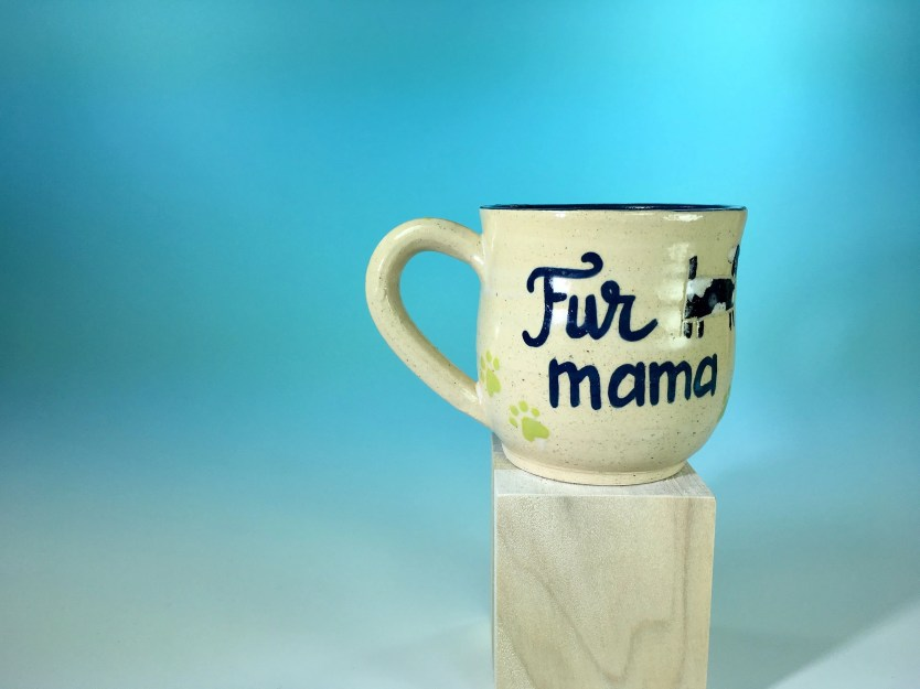 Fur Mama Ceramic Mug / Do...
