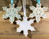 Ornament - Snowflake - Personalize it! – READY TO SHIP