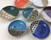 Hand Painted Ceramic Ring...