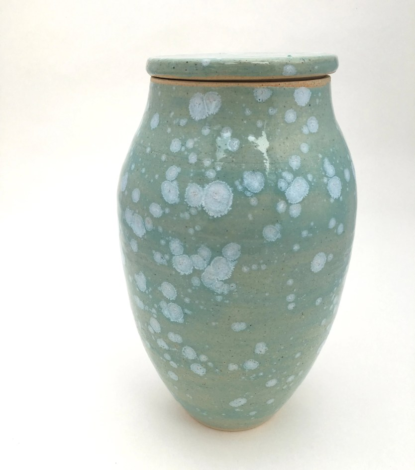 Jar - Celadon Bloom / Cer...
