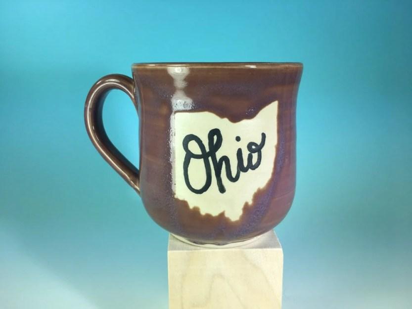 Lavender Rose Ohio  Mug /...