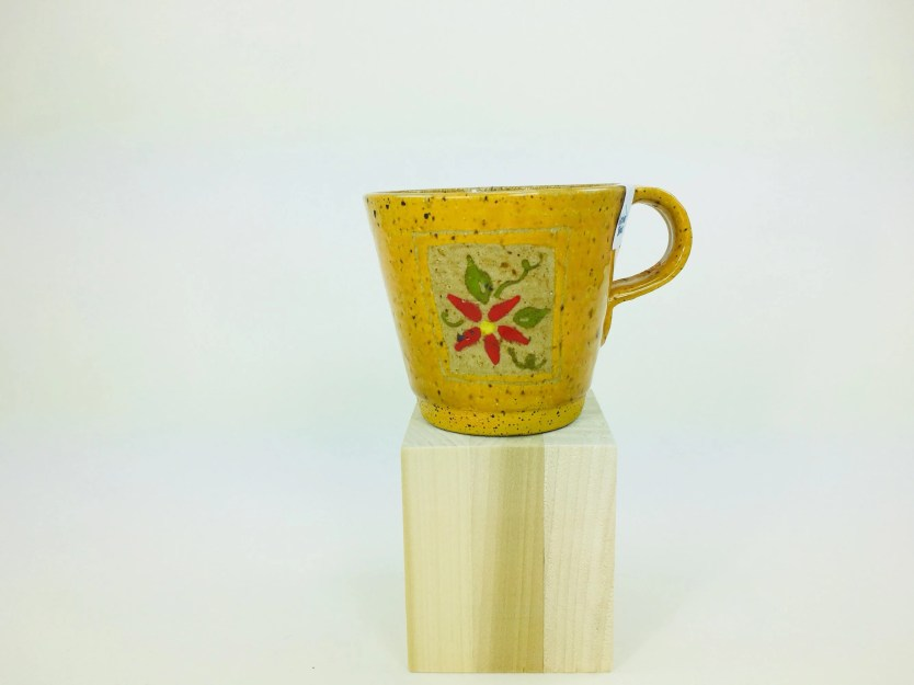 Mug - Yellow teacup with ...