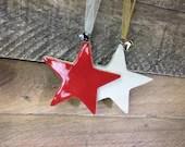Star Ornament - Ceramic S...
