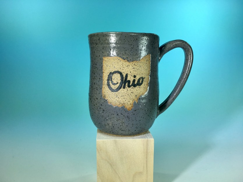 Mug - Ohio Matte Gray Tal...