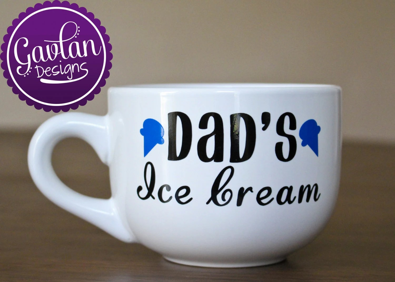 dads ice cream bowl