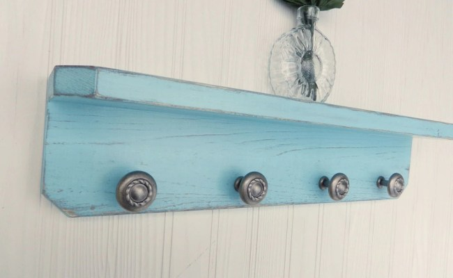 Wood Wall Shelf Shabby Chic Wall Decor French Country Etsy