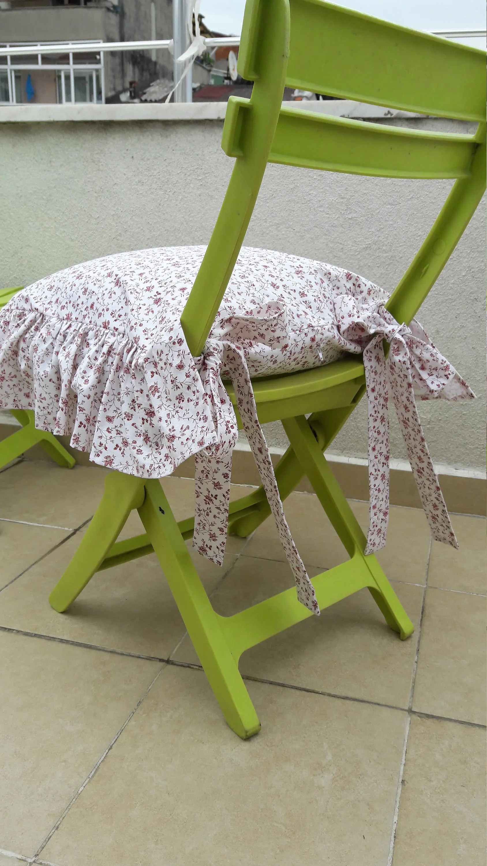 chair cushions with ties french country high table and set outdoor ruffle linen cushion covers 3 etsy image 0